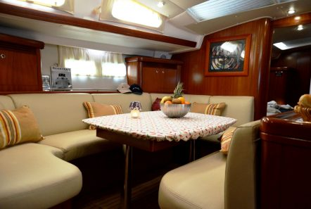 malena sailing yacht dining salon (1)_valef -  Valef Yachts Chartering - 5468