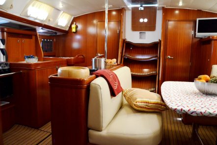 malena sailing yacht dining salon (3)_valef -  Valef Yachts Chartering - 5467