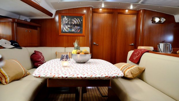 malena sailing yacht dining salon (4)_valef -  Valef Yachts Chartering - 5466