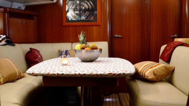 malena sailing yacht dining salon (6)_valef -  Valef Yachts Chartering - 5464