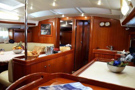 malena sailing yacht dining salon (8)_valef -  Valef Yachts Chartering - 5463