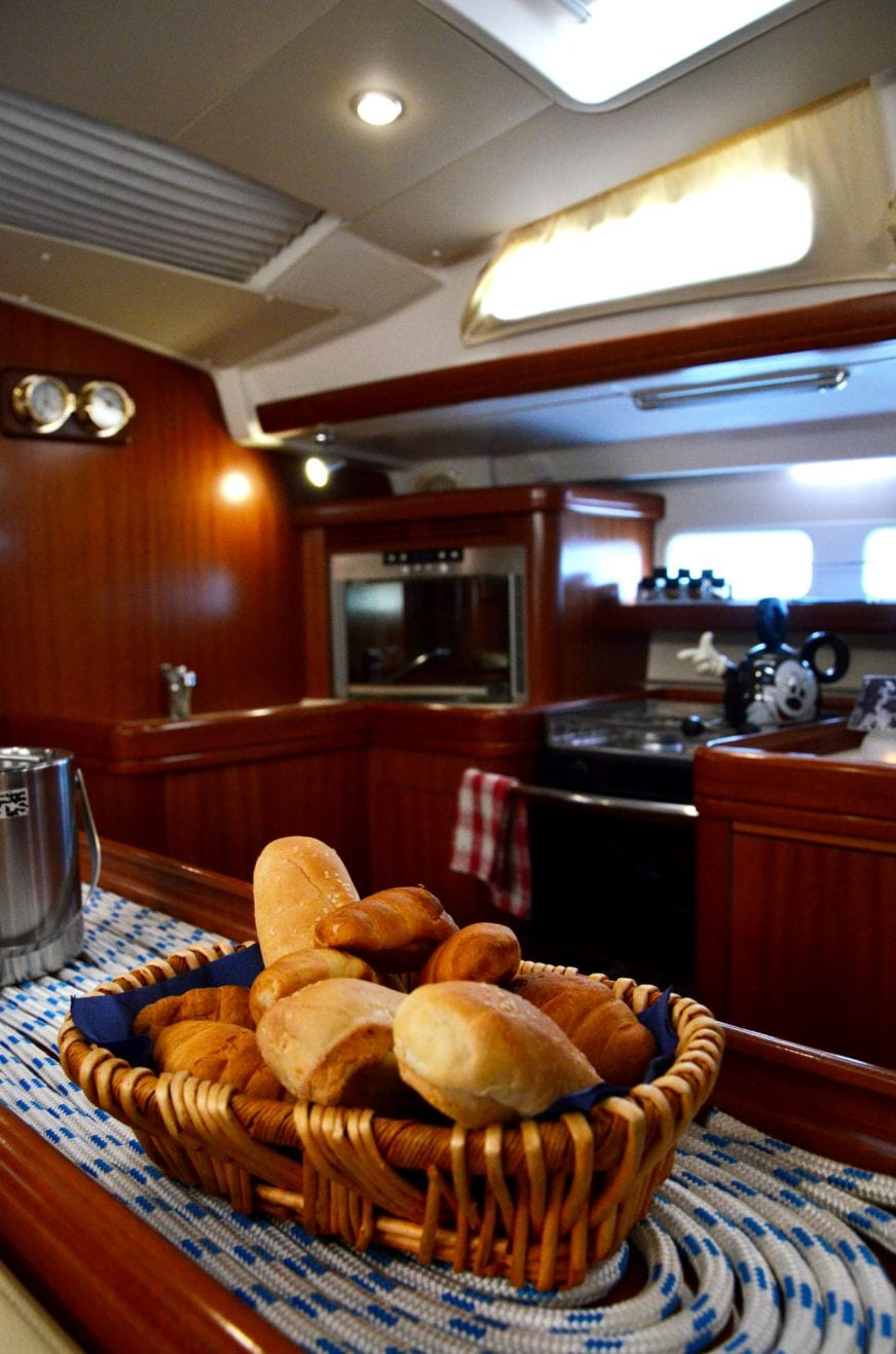 malena sailing yacht galley (2)_valef -  Valef Yachts Chartering - 5458