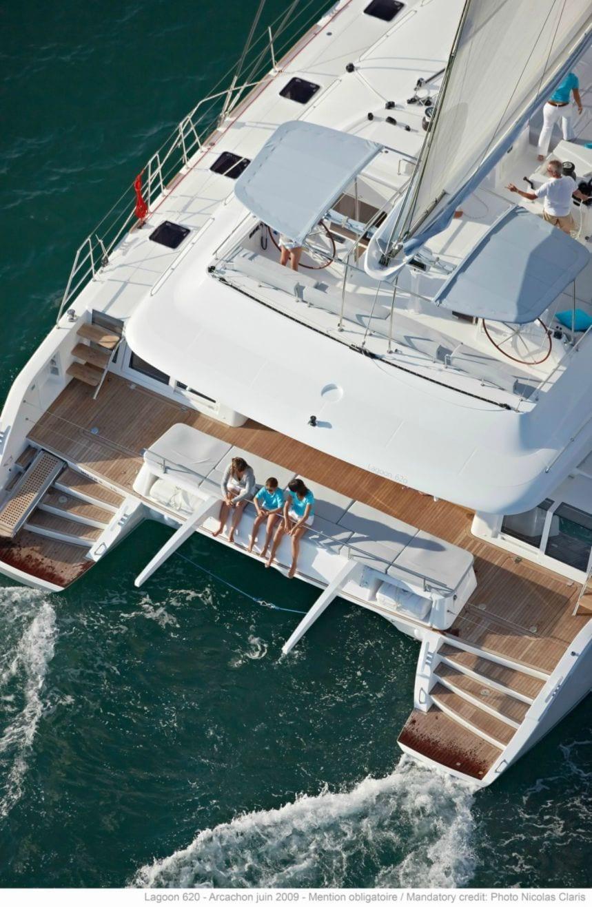my office catamaran aerial_valef -  Valef Yachts Chartering - 5445