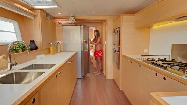 my office catamaran galley_valef -  Valef Yachts Chartering - 5432