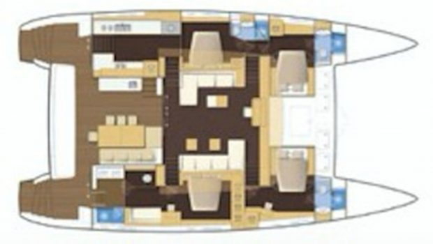 my office catamaran layout_valef -  Valef Yachts Chartering - 5431