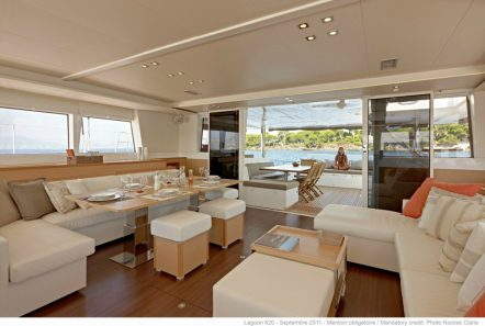 my office catamaran salon2_valef -  Valef Yachts Chartering - 5428