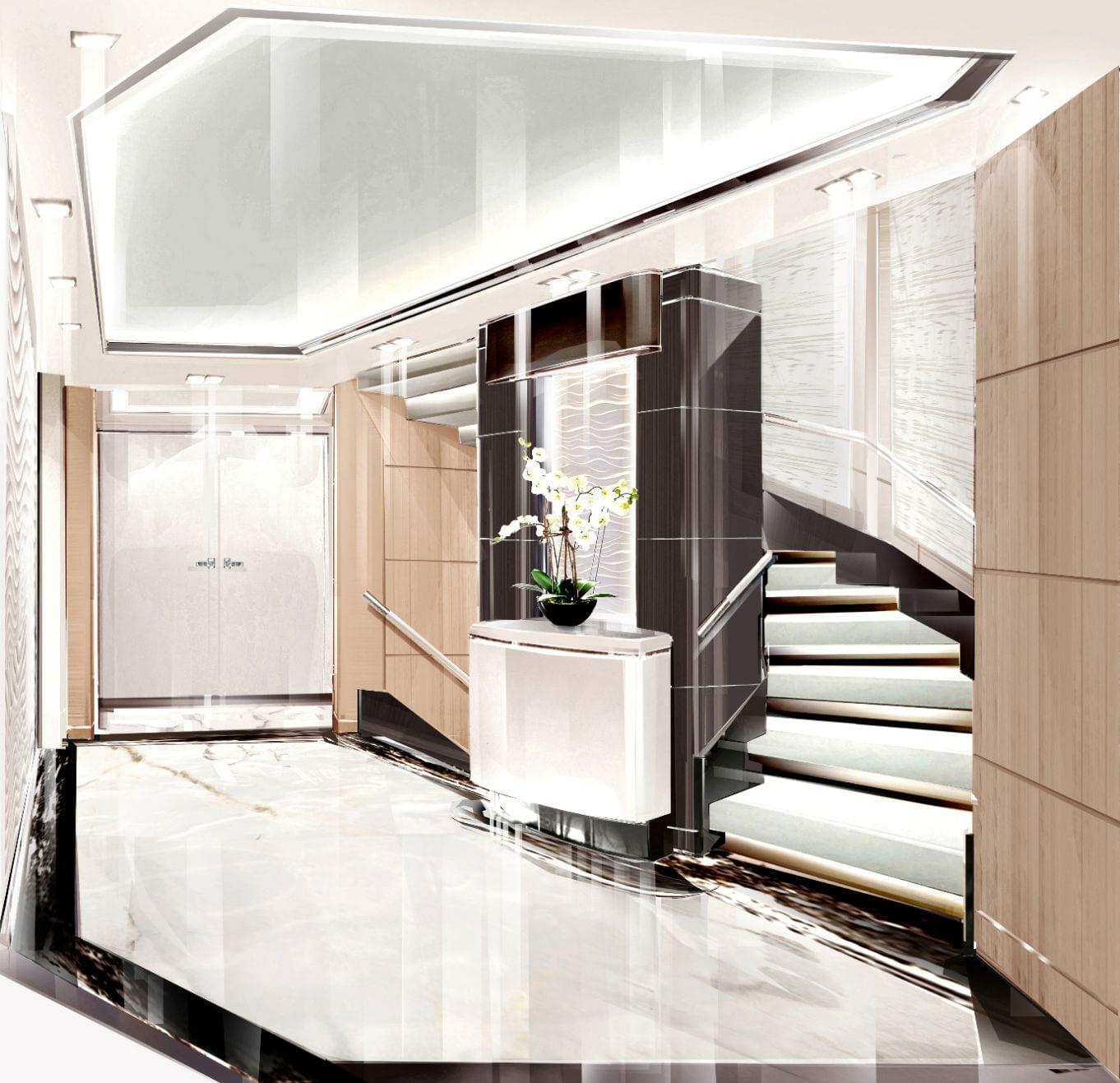 o_ptasia superyacht lobby_valef -  Valef Yachts Chartering - 5372