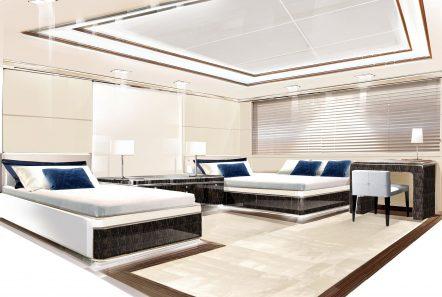o_ptasia superyacht twin stateroom_valef -  Valef Yachts Chartering - 5358
