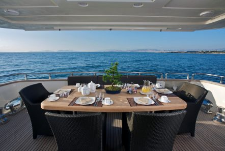 taylne aft deck dining_valef -  Valef Yachts Chartering - 5346