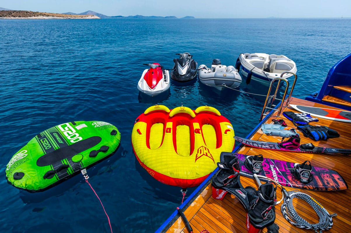 valef yachts corporate charter jaan swim platform -  Valef Yachts Chartering - 5349