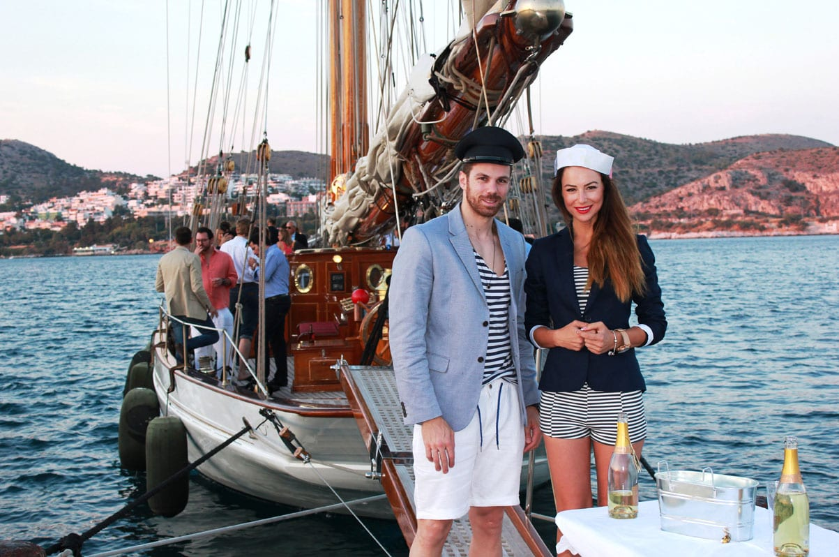 yacht party aboard sailing yacht aello greece -  Valef Yachts Chartering - 5916