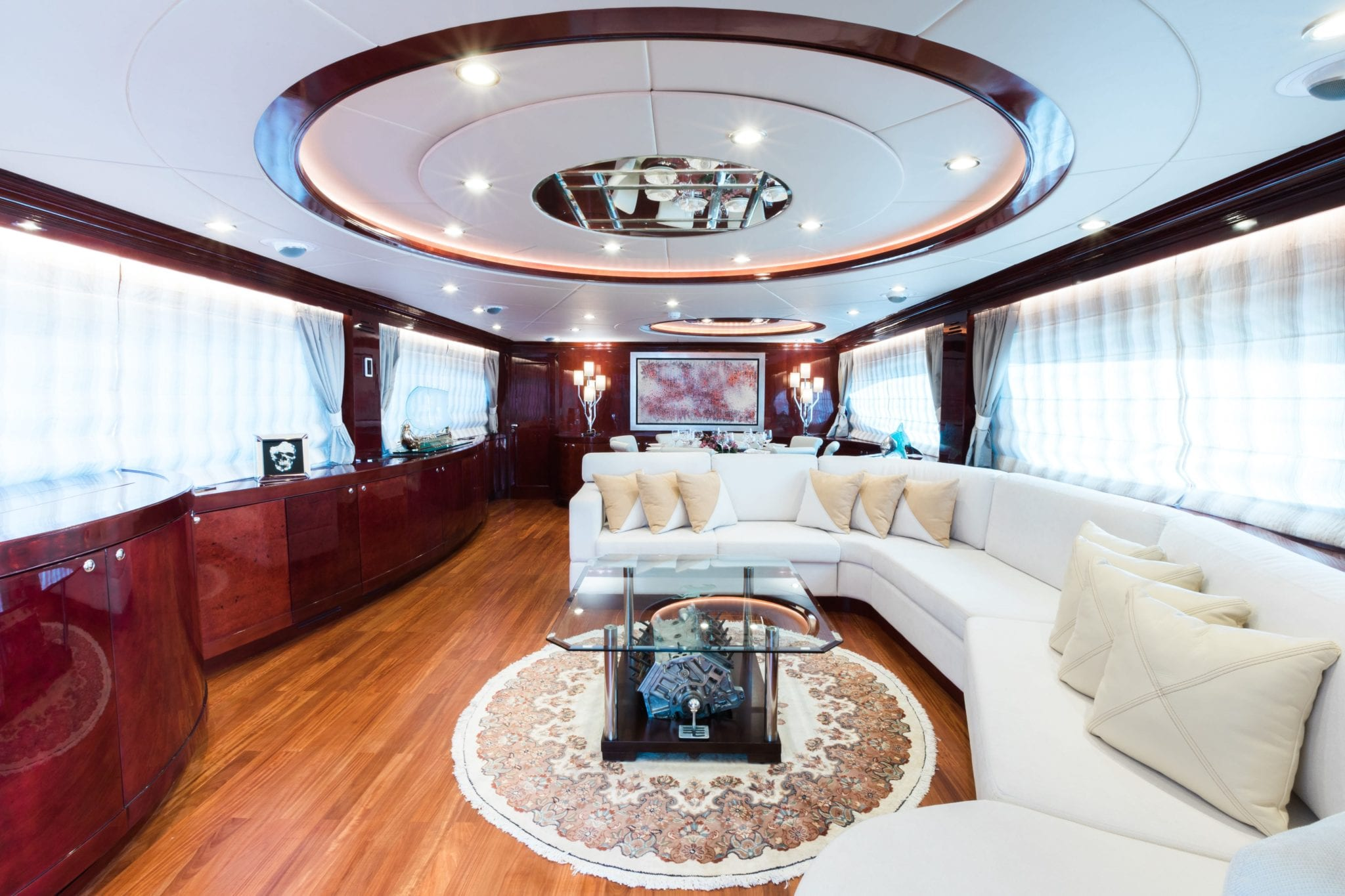 albator motor yacht salon (1) -  Valef Yachts Chartering - 3858