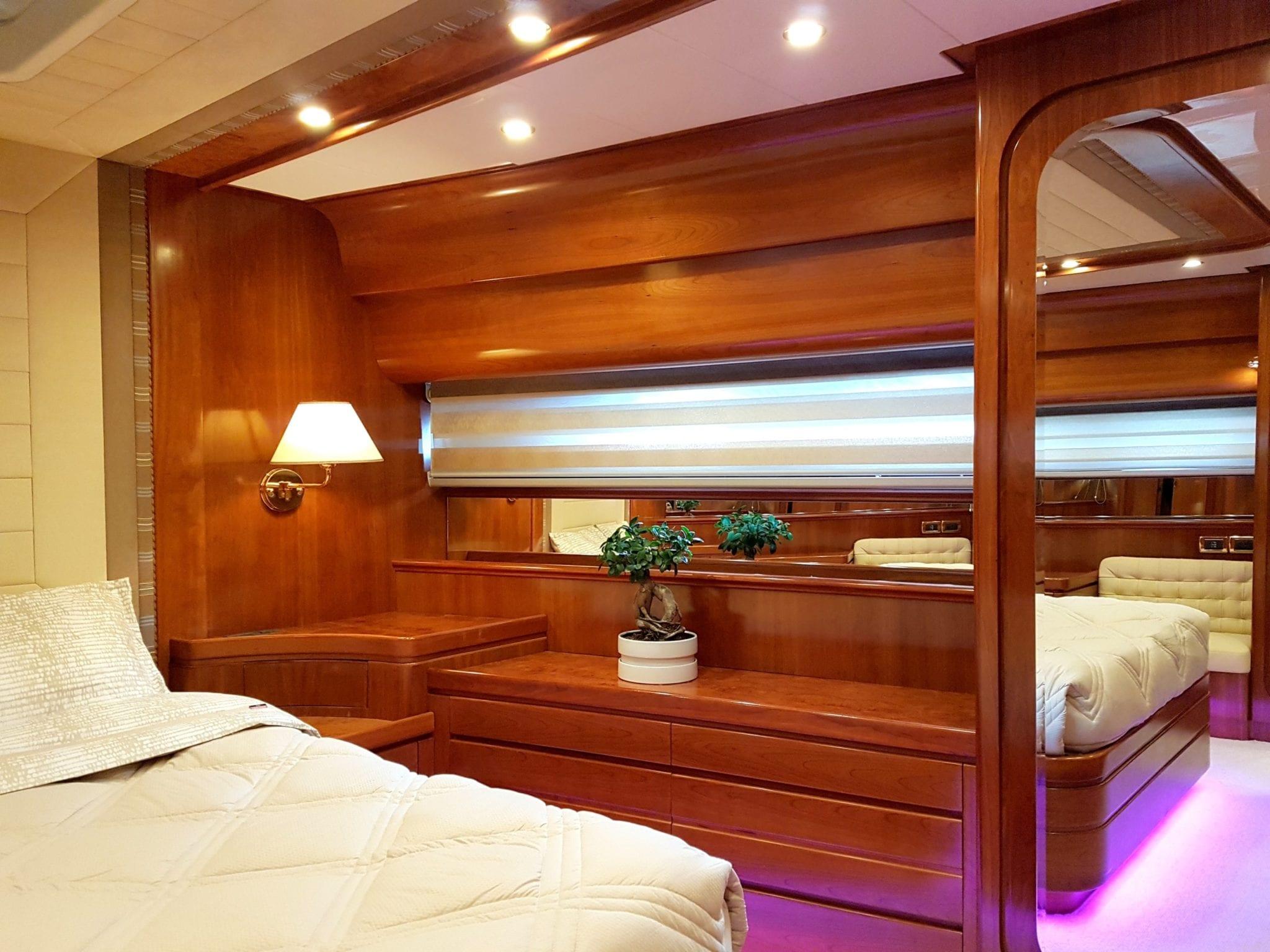 amoraki motor yacht cabin view min -  Valef Yachts Chartering - 5053