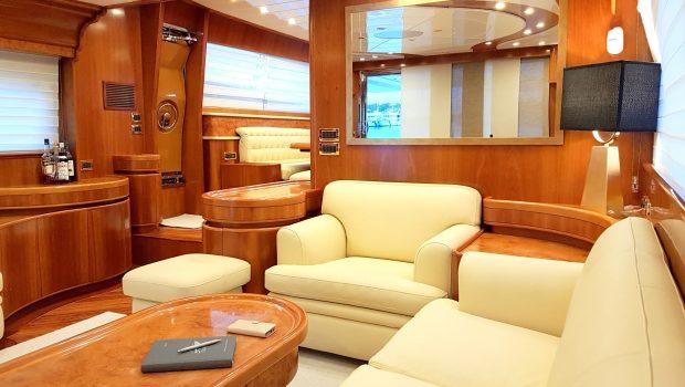 amoraki motor yacht salon (3) min -  Valef Yachts Chartering - 5049