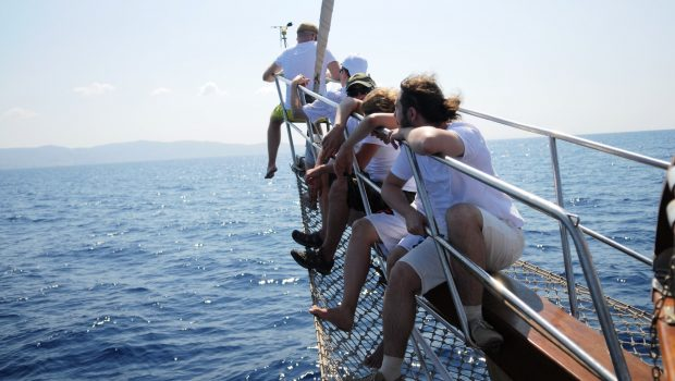 apollon motor sailer bow min -  Valef Yachts Chartering - 4745