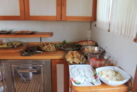 apollon motor sailer meals galley min -  Valef Yachts Chartering - 4741