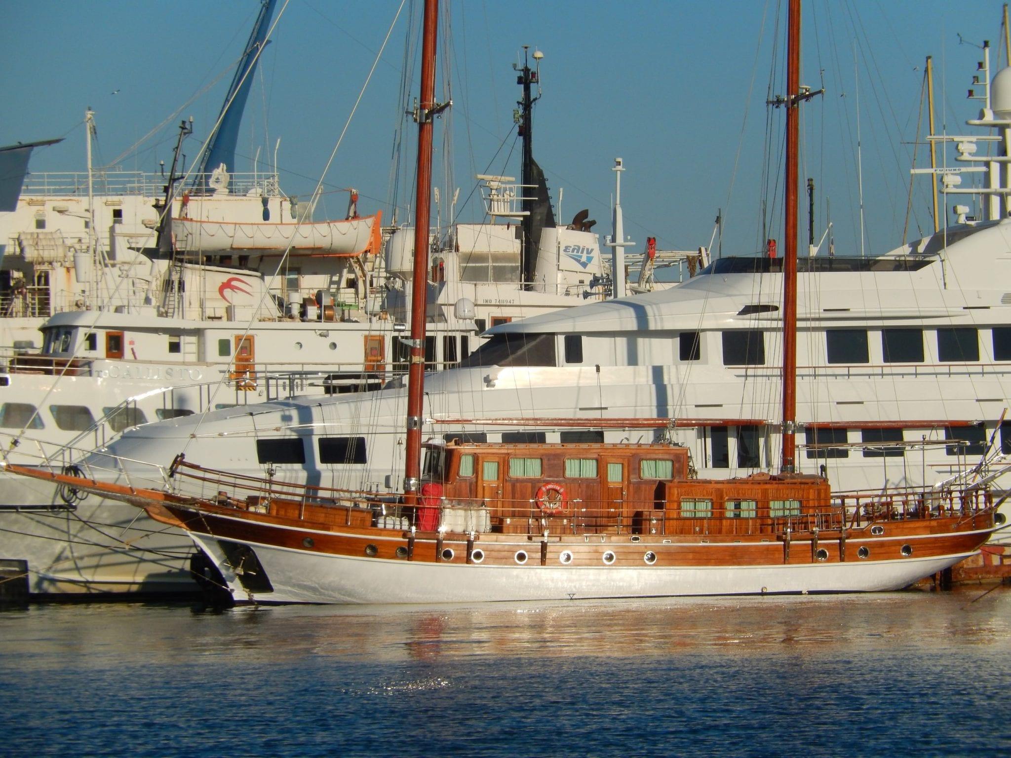 apollon motor sailer port min -  Valef Yachts Chartering - 4740