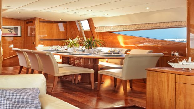 atalanti motor yacht dining (1)_valef -  Valef Yachts Chartering - 5211