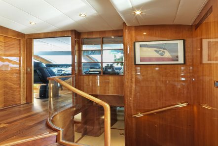 atalanti motor yacht stairs_valef -  Valef Yachts Chartering - 5216