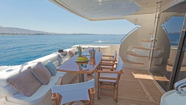 beluga motor yacht aft deck3 min -  Valef Yachts Chartering - 3747