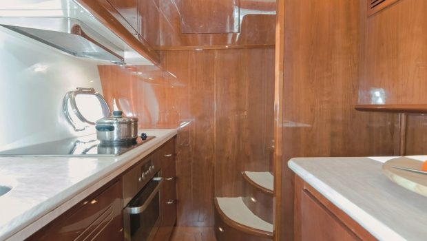 beluga motor yacht galley2 min -  Valef Yachts Chartering - 3743