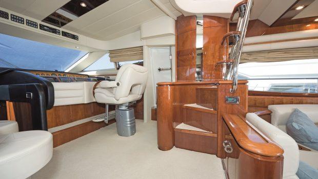 beluga motor yacht pilothouse min -  Valef Yachts Chartering - 3767