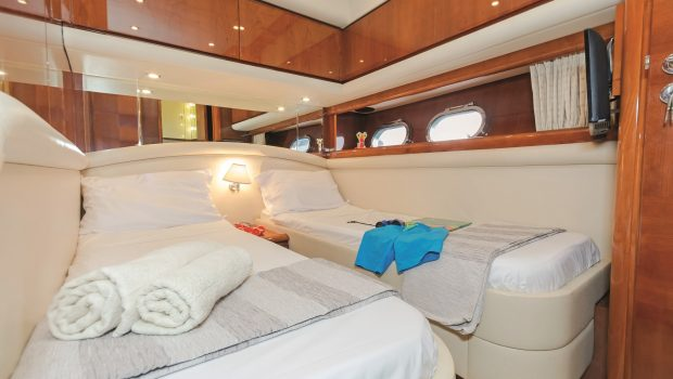 beluga motor yacht twin stateroom (1) min -  Valef Yachts Chartering - 3752