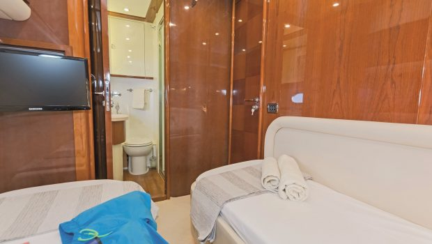 beluga motor yacht twin stateroom (2) min -  Valef Yachts Chartering - 3751