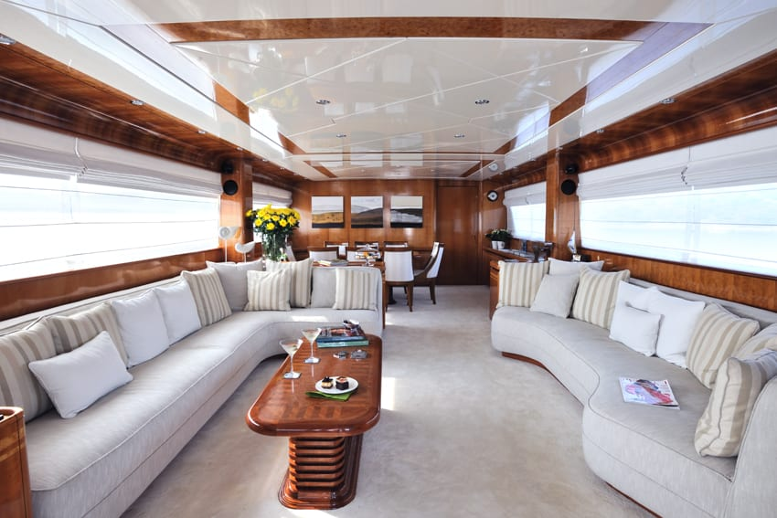 blu sky canados salon -  Valef Yachts Chartering - 4353