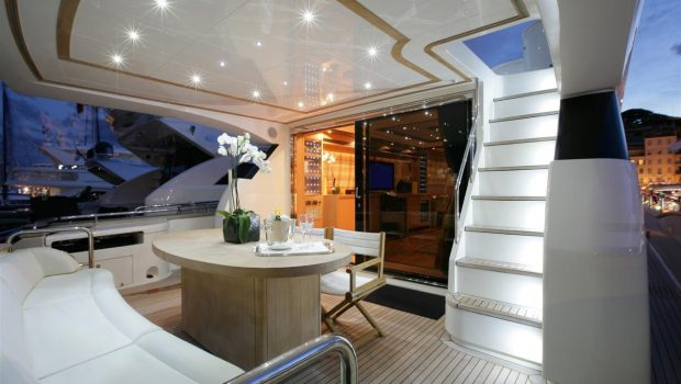 blue angel motor yacht aft deck (2) min -  Valef Yachts Chartering - 5292