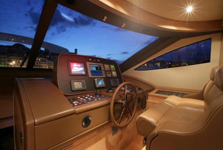 blue angel motor yacht bridge min -  Valef Yachts Chartering - 5290