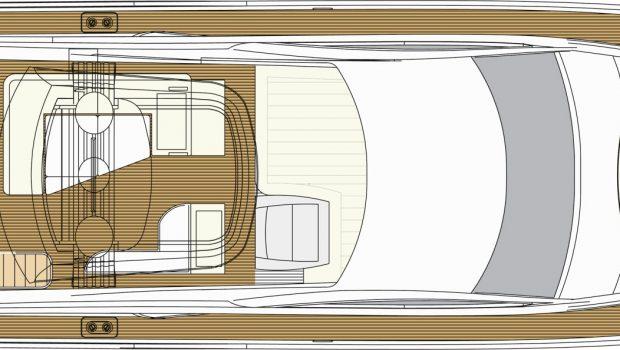 blue angel motor yacht deck plan (2) min -  Valef Yachts Chartering - 5287
