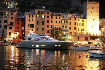 blue angel motor yacht evening min -  Valef Yachts Chartering - 5284