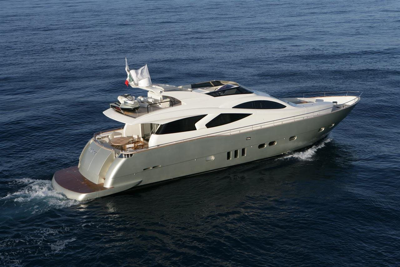 blue angel motor yacht exterior (1) min -  Valef Yachts Chartering - 5283