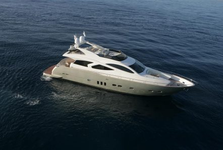 blue angel motor yacht exterior (2) min -  Valef Yachts Chartering - 5282