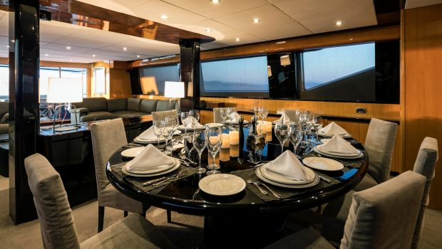cant remember motor yacht dining (1) min -  Valef Yachts Chartering - 4694