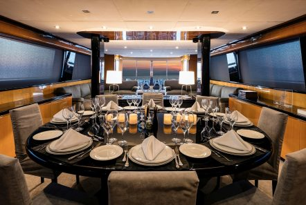 cant remember motor yacht dining (2) min -  Valef Yachts Chartering - 4693