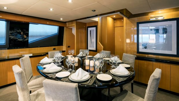 cant remember motor yacht dining (3) min -  Valef Yachts Chartering - 4692