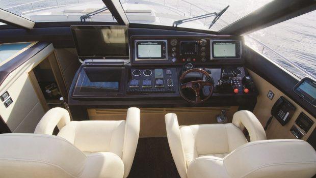 catherine motor yacht bridge_valef -  Valef Yachts Chartering - 5184