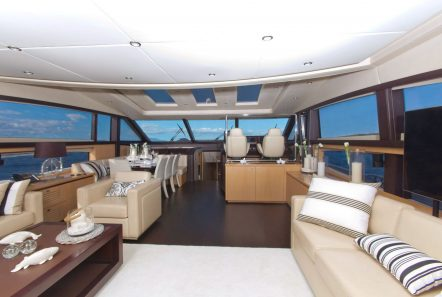 catherine motor yacht salon_valef -  Valef Yachts Chartering - 5195