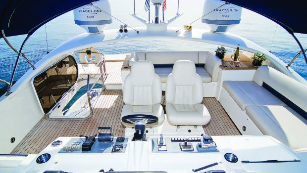 catherine motor yacht sundeck_valef -  Valef Yachts Chartering - 5194