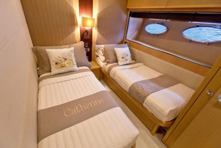 catherine motor yacht twin staterooms (1)_valef -  Valef Yachts Chartering - 5193