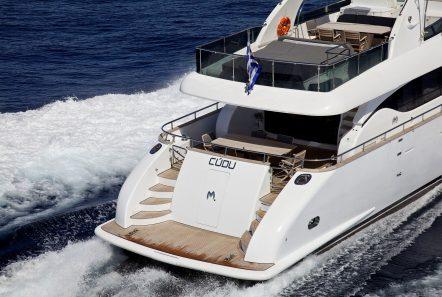 cudu motor yacht aft min -  Valef Yachts Chartering - 4805