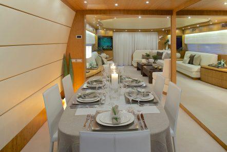 cudu motor yacht dining min -  Valef Yachts Chartering - 4802