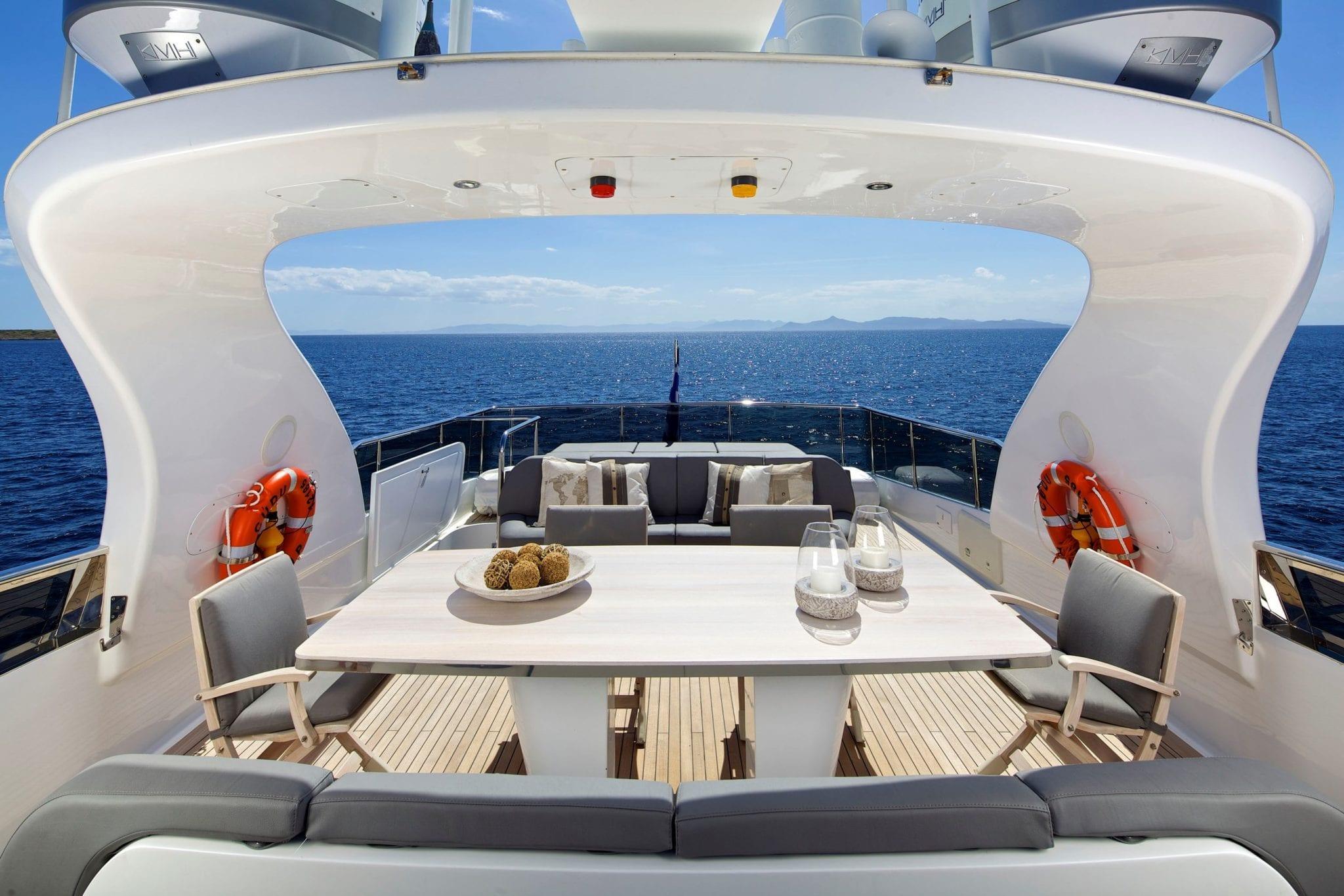 cudu motor yacht sun deck (2) min -  Valef Yachts Chartering - 4796