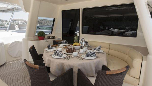 dana motor yacht aftdeck (1) -  Valef Yachts Chartering - 4282