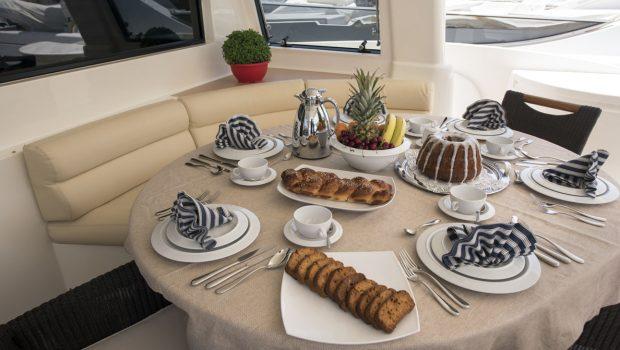 dana motor yacht aftdeck (2) -  Valef Yachts Chartering - 4281