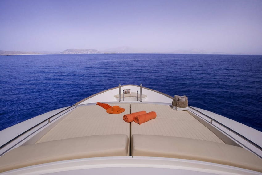 dana motor yacht fore -  Valef Yachts Chartering - 4300