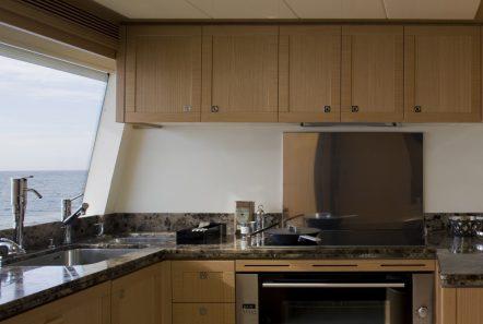 dana motor yacht galley -  Valef Yachts Chartering - 4298