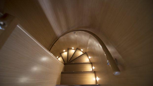 dana motor yacht stairs -  Valef Yachts Chartering - 4291